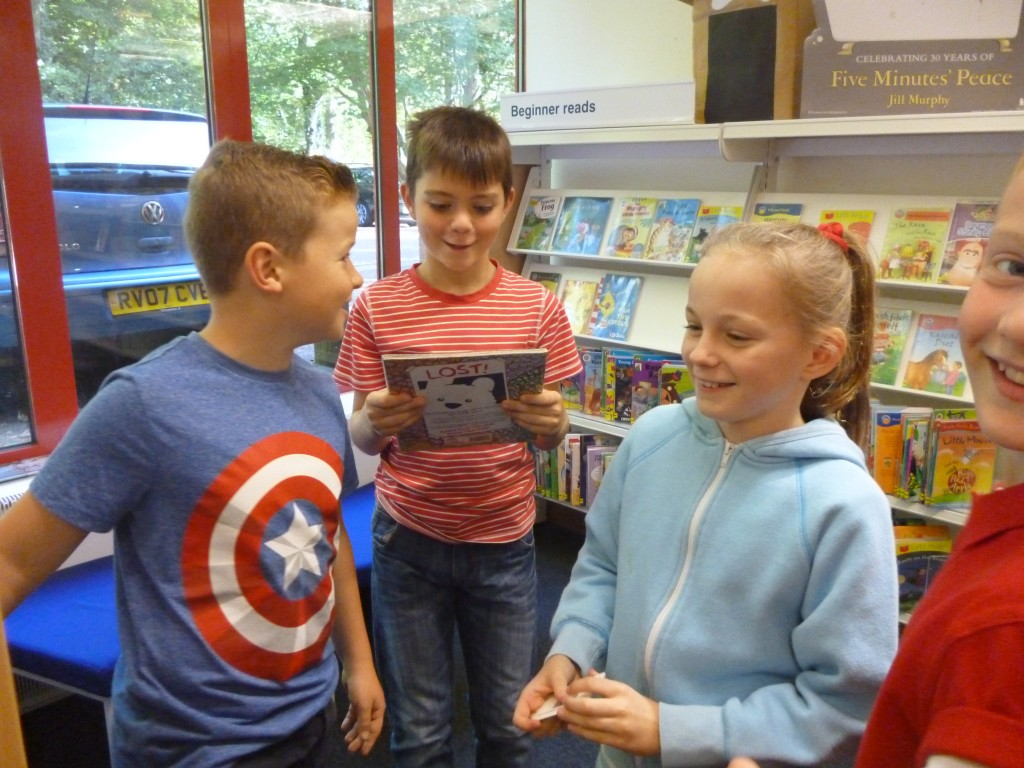 Panshanger Primary School 187 Year 5 Trip To The Campus Library